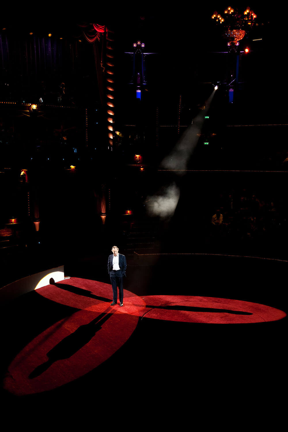 Michel Leeb pour le Gala de l'Union, Cirque Bouglione