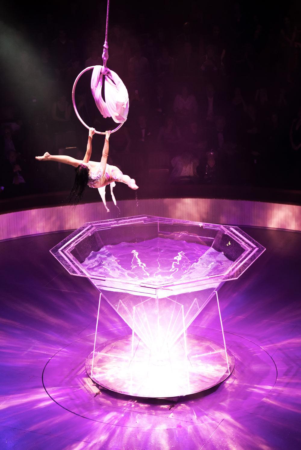 Gala de l' Union 2010 - Sofia Essaidi, Cirque Bouglione